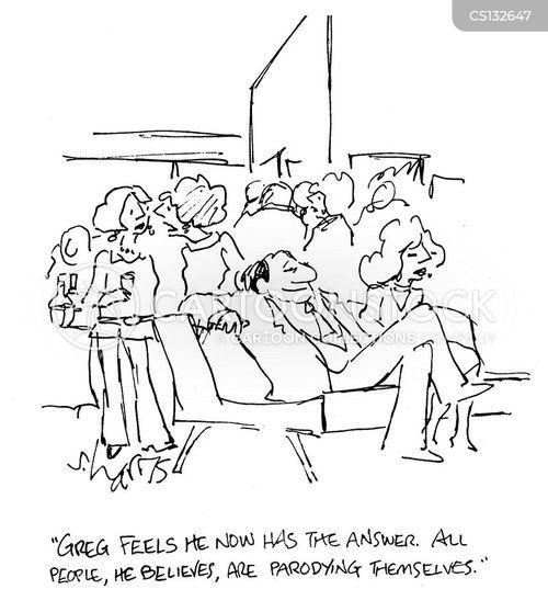 parodying cartoon