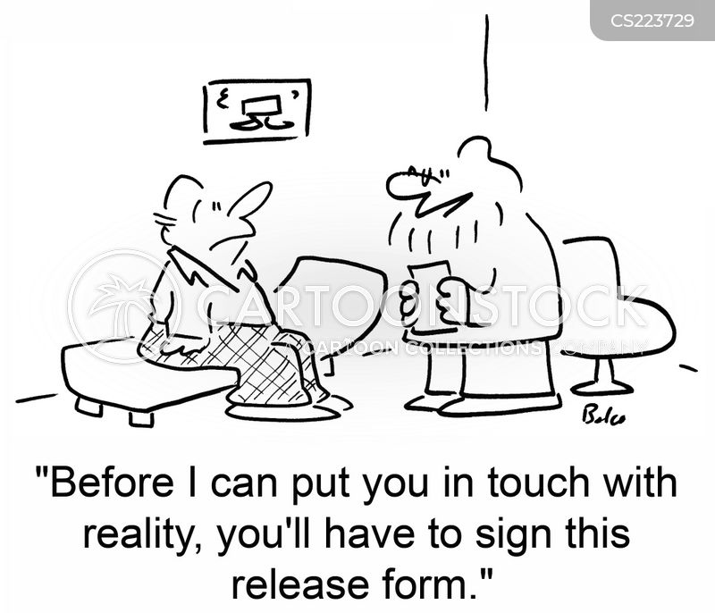 release forms cartoon