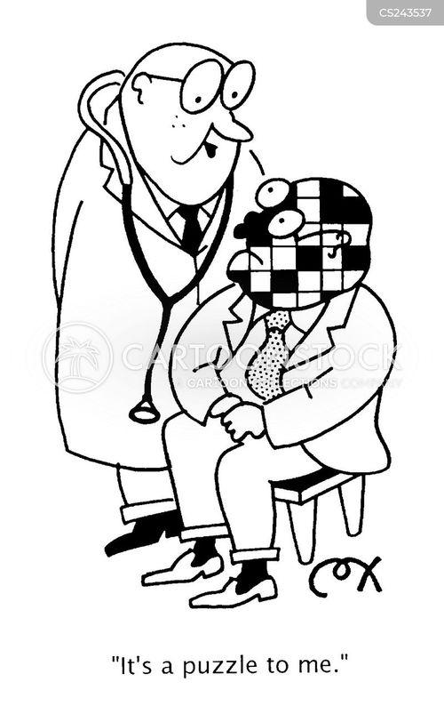 puzzled cartoon