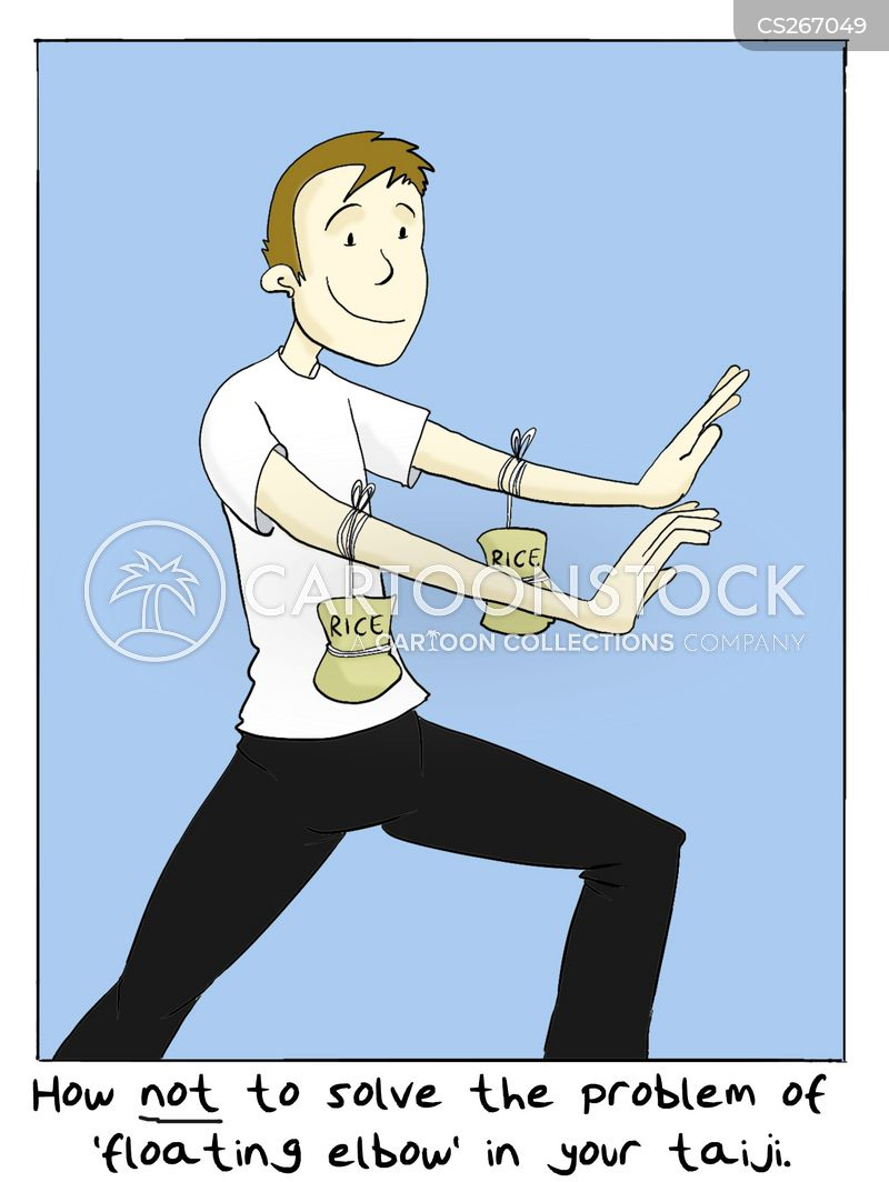 qigong cartoon