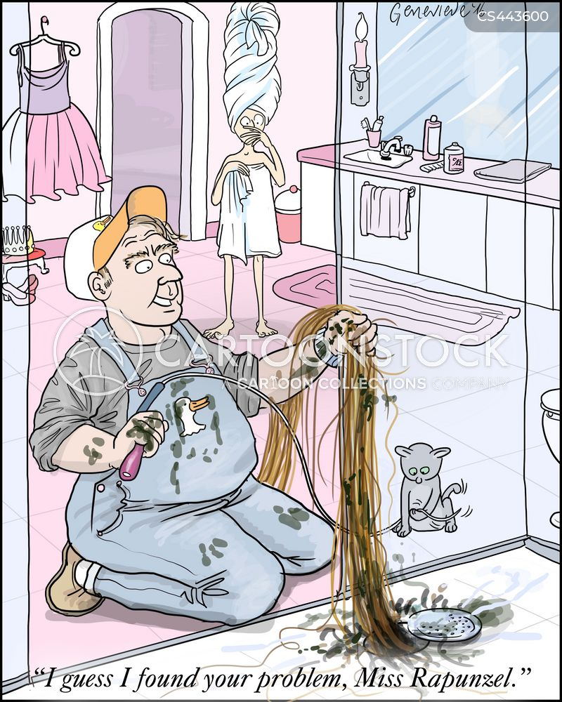 plumbing disasters cartoon