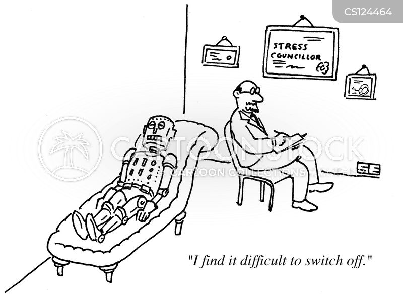 switching off cartoon