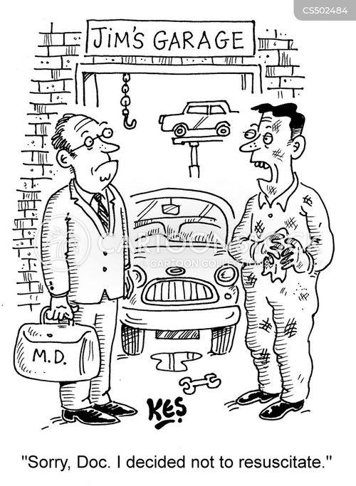 resuscitates cartoon