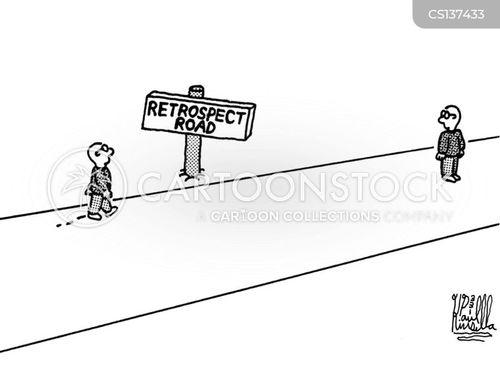 retrospect cartoon
