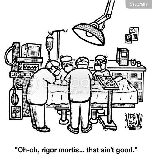 rigor cartoon