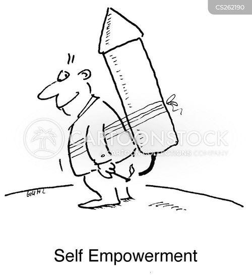 selfless cartoon