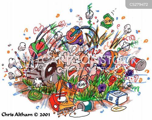 roller blading cartoon