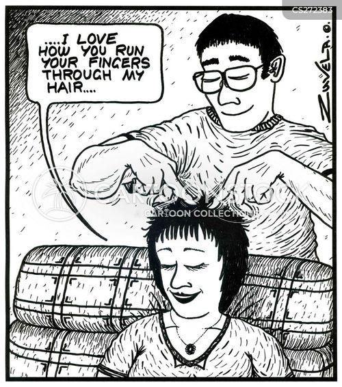 masseurs cartoon