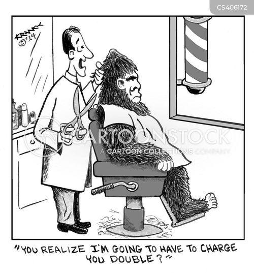 hairiness cartoon