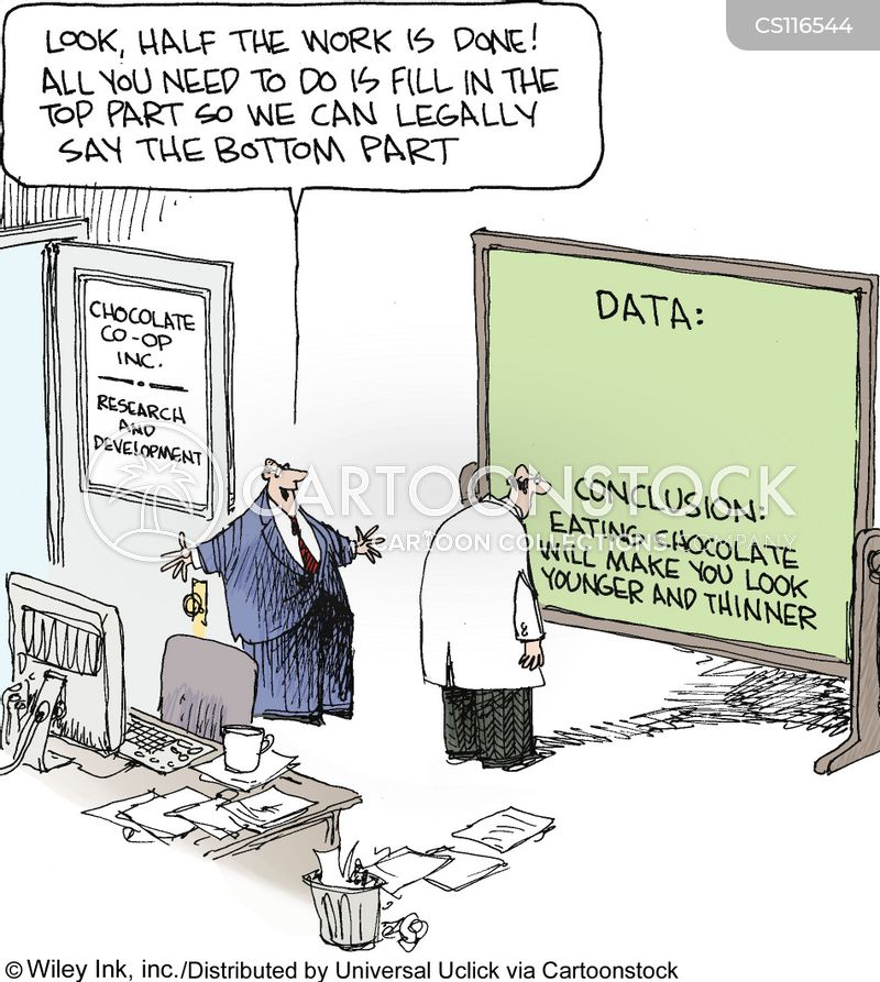researcher cartoon
