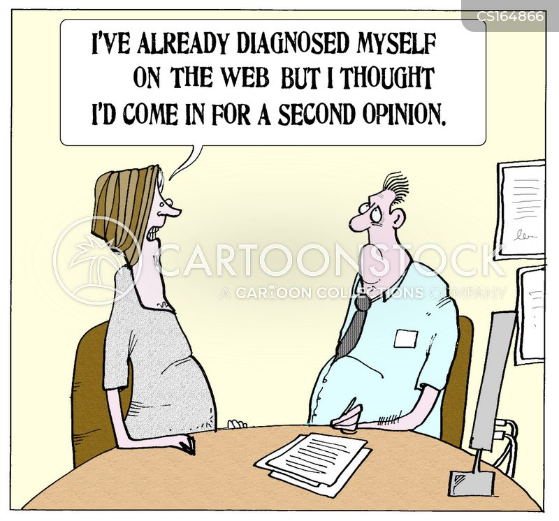 self diagnosis cartoon