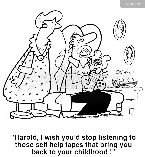 regressed cartoon
