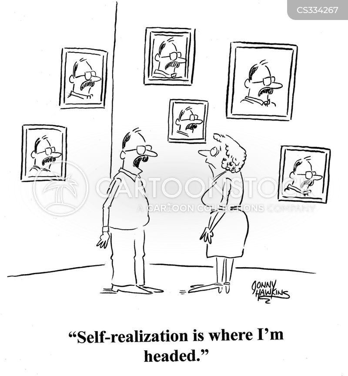 self realization cartoon