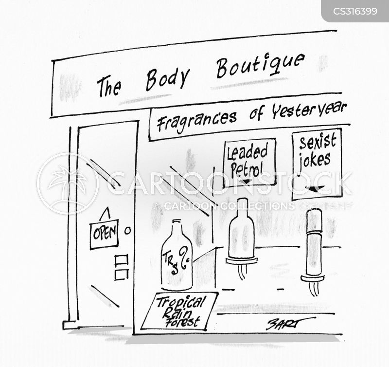 boutique cartoon
