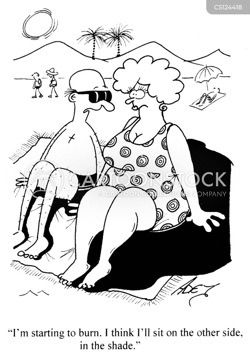 large ladies cartoon