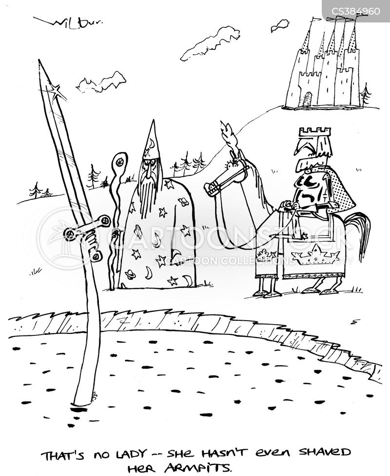 arthurian myth cartoon