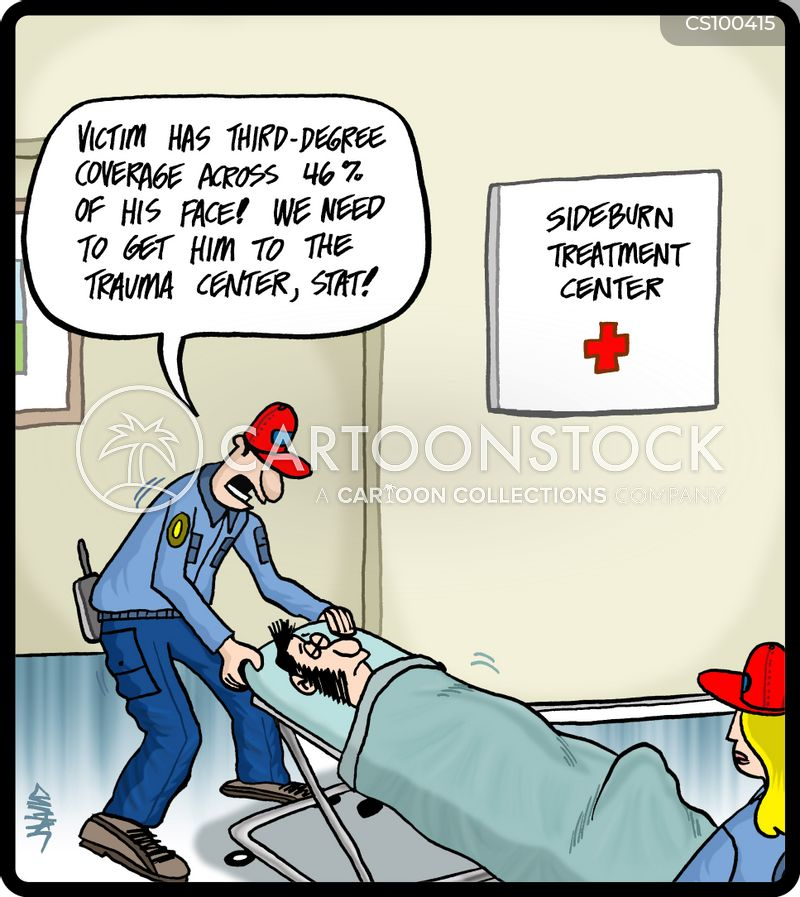 medical technicians cartoon