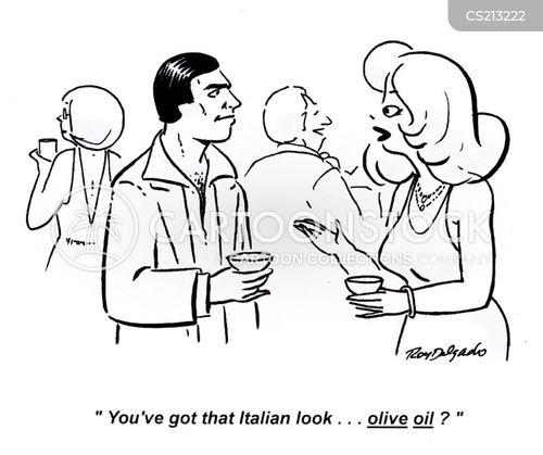 olive oils cartoon