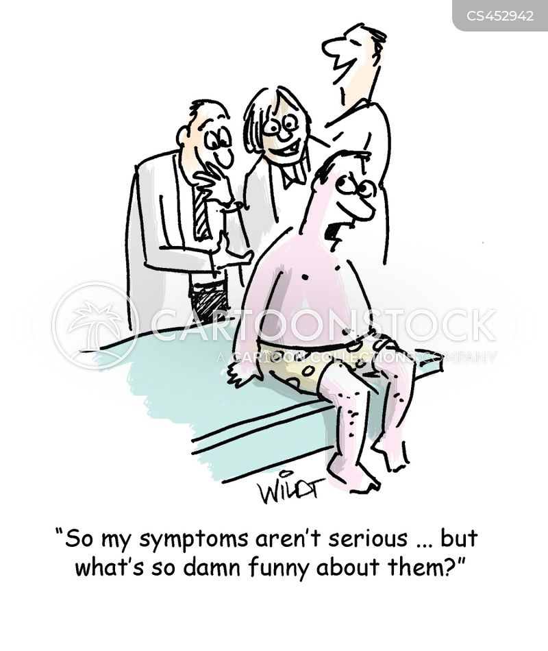 skin rash cartoon