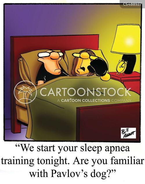 sleep apnea cartoon