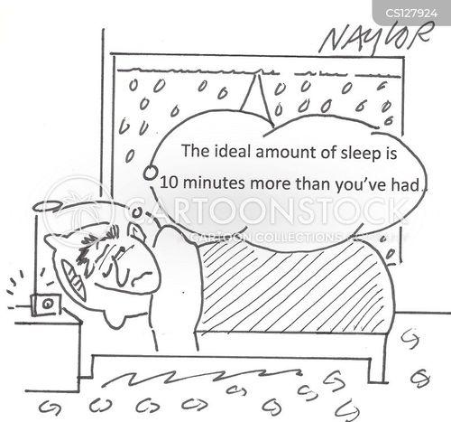 lying in cartoon