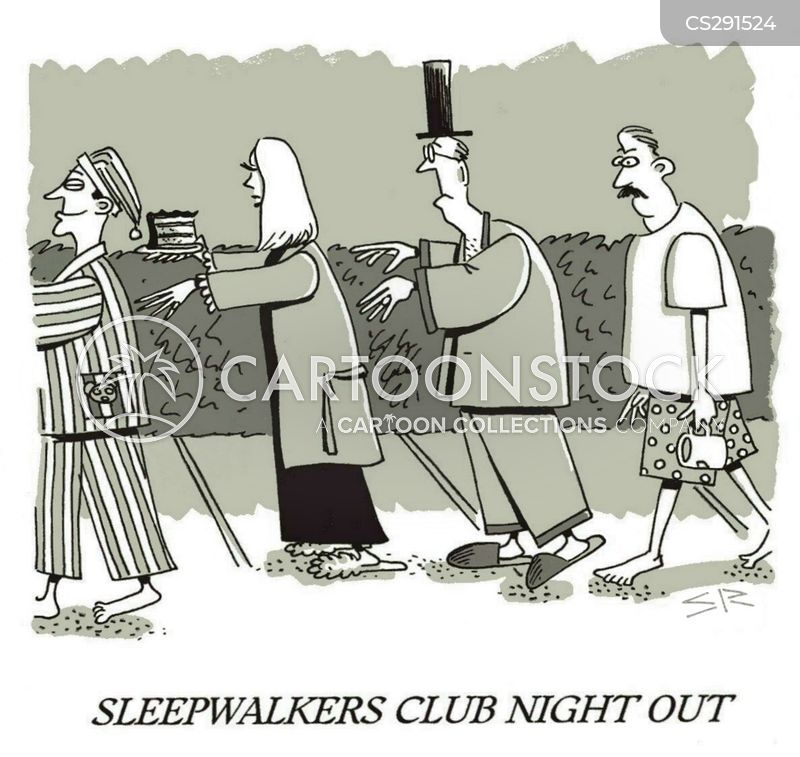 sleepwalkers cartoon