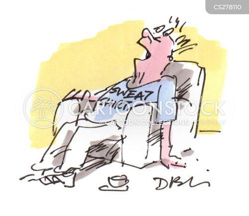 sedation cartoon