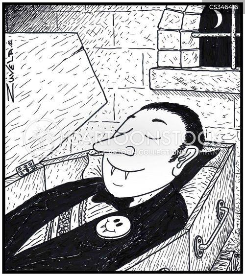 the undead cartoon