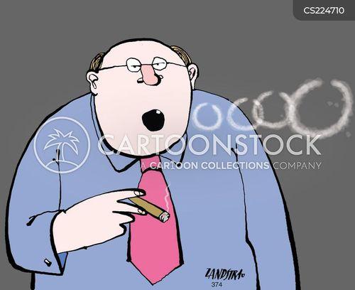 smoke rings cartoon