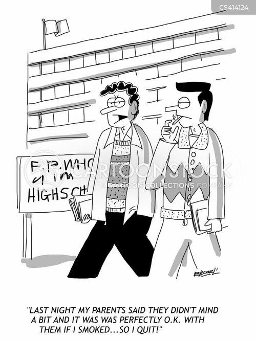 teenage rebel cartoon