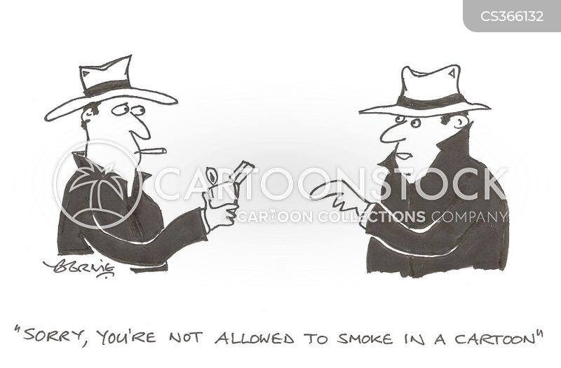 smoke-free laws cartoon