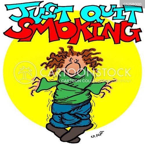 non-smoker cartoon