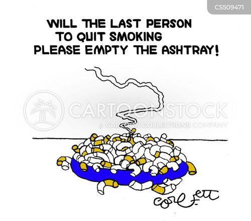 ashtrays cartoon