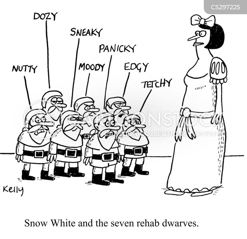 snow white and the seven dwarves cartoon