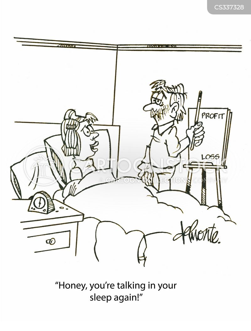 somniloquy cartoon