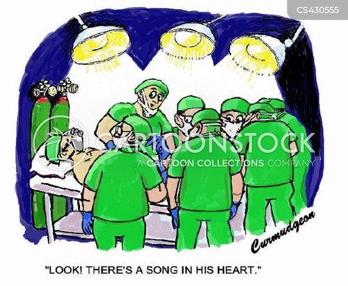 cardiac surgeon cartoon