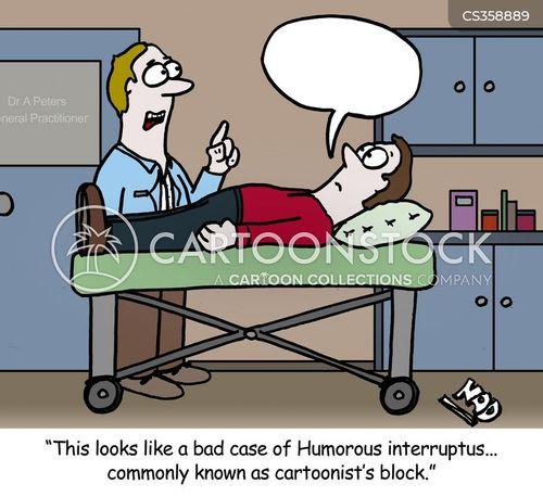 laryngitis cartoon