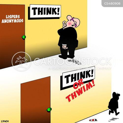 lisping cartoon
