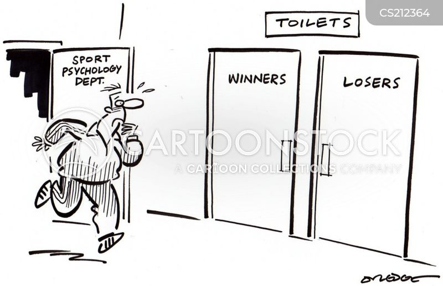 sports psychologist cartoon