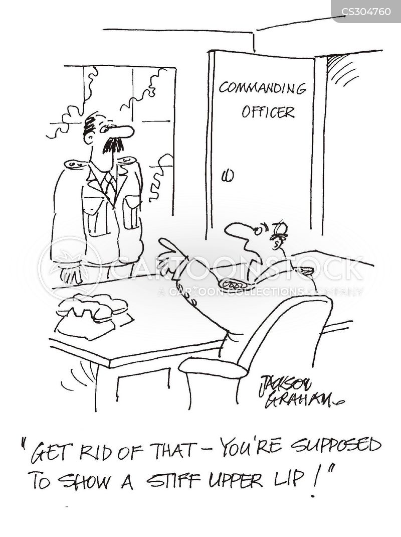 commanding officer cartoon