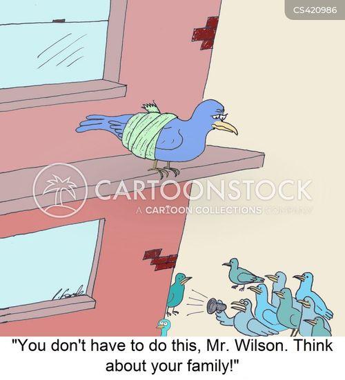 death-wish cartoon