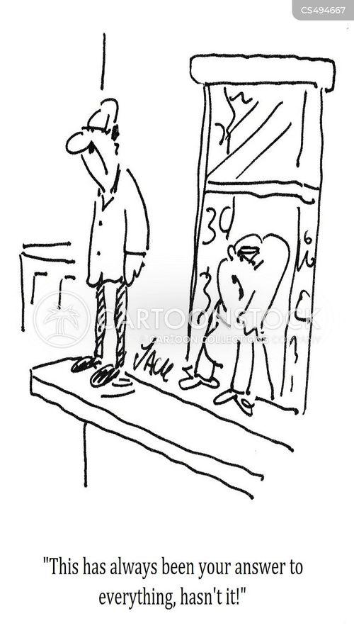 death-wishes cartoon