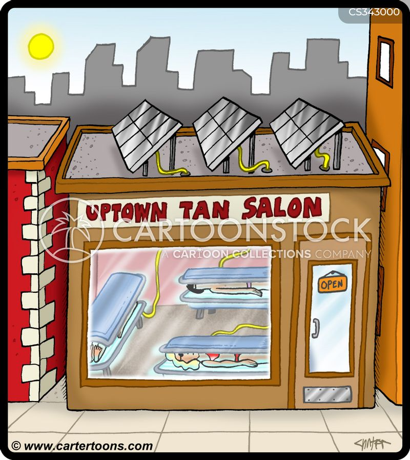tan bed cartoon