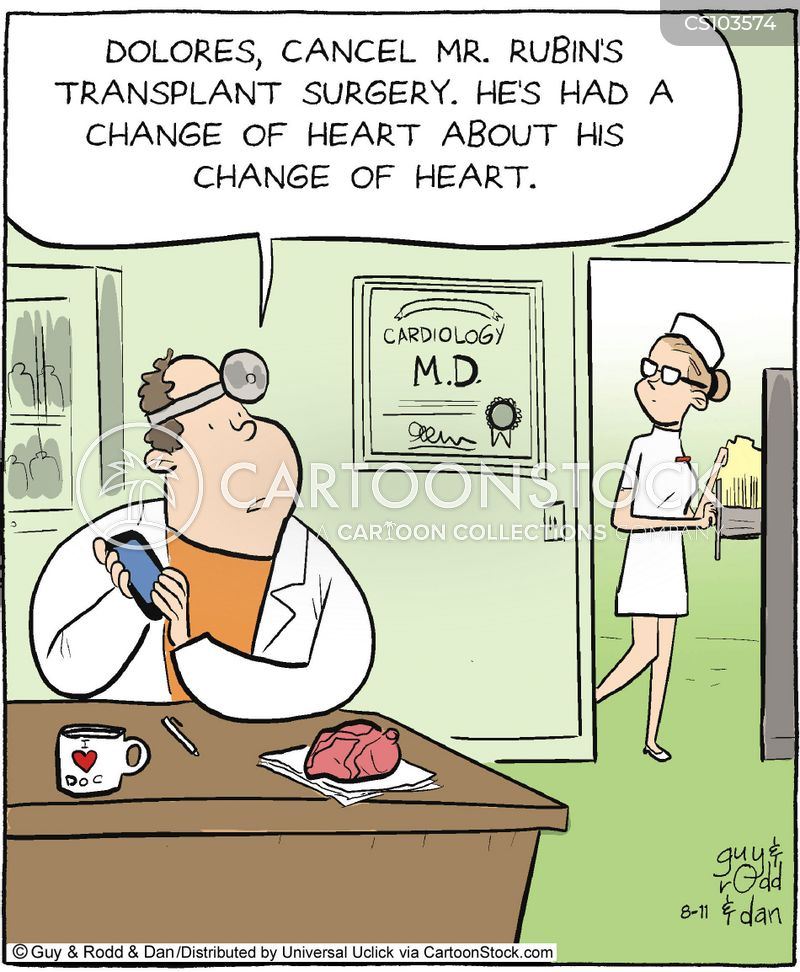 Transplant Surgery Cartoons And Comics