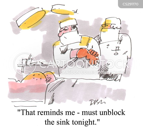 unblocking cartoon