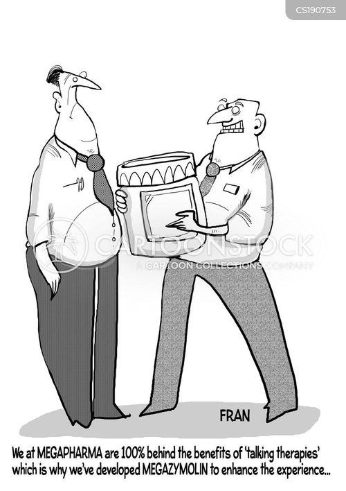 talking therapies cartoon