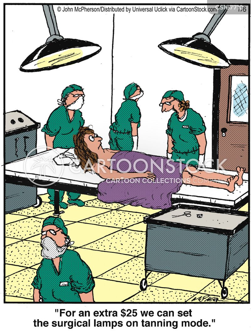 beauticians cartoon