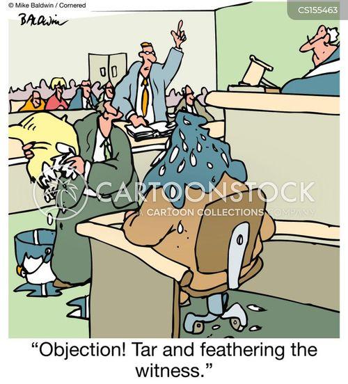 objections cartoon