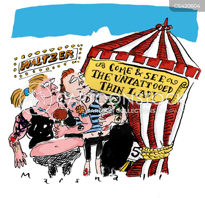 freak show cartoon
