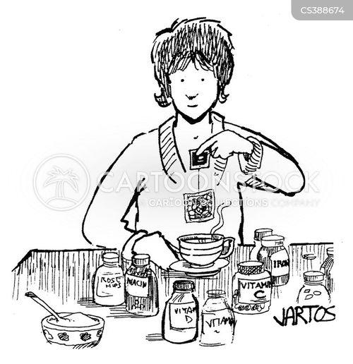 vitamin c cartoon